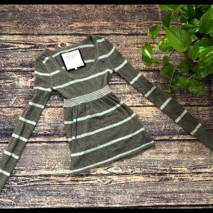 🌀Abercrombie & Fitch | LongSleeve Striped Sweater